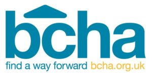 BCHA Character Logo, with tagline 60mm