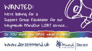 Advert for MindOut Facilitator