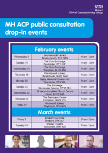 Dorset Acute Consultation events