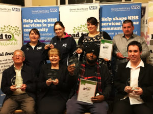 All winners of the Road to Wellness Awards
