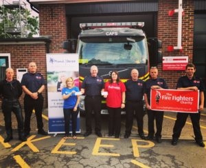 Fordingbridge Fire Brigade Firefighters