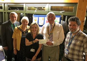 Verwood Rotary and Mayor