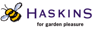 Haskins Garden Centre Logo for bucket collecting