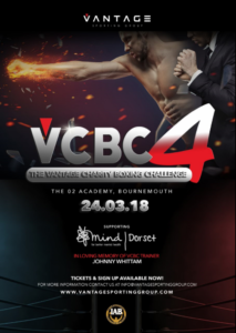 Vantage Charity Boxing Challenge