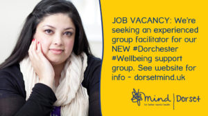 Dorchester Wellbeing Job Ad