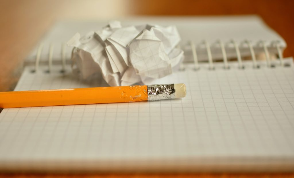 List writing can help with anxiety