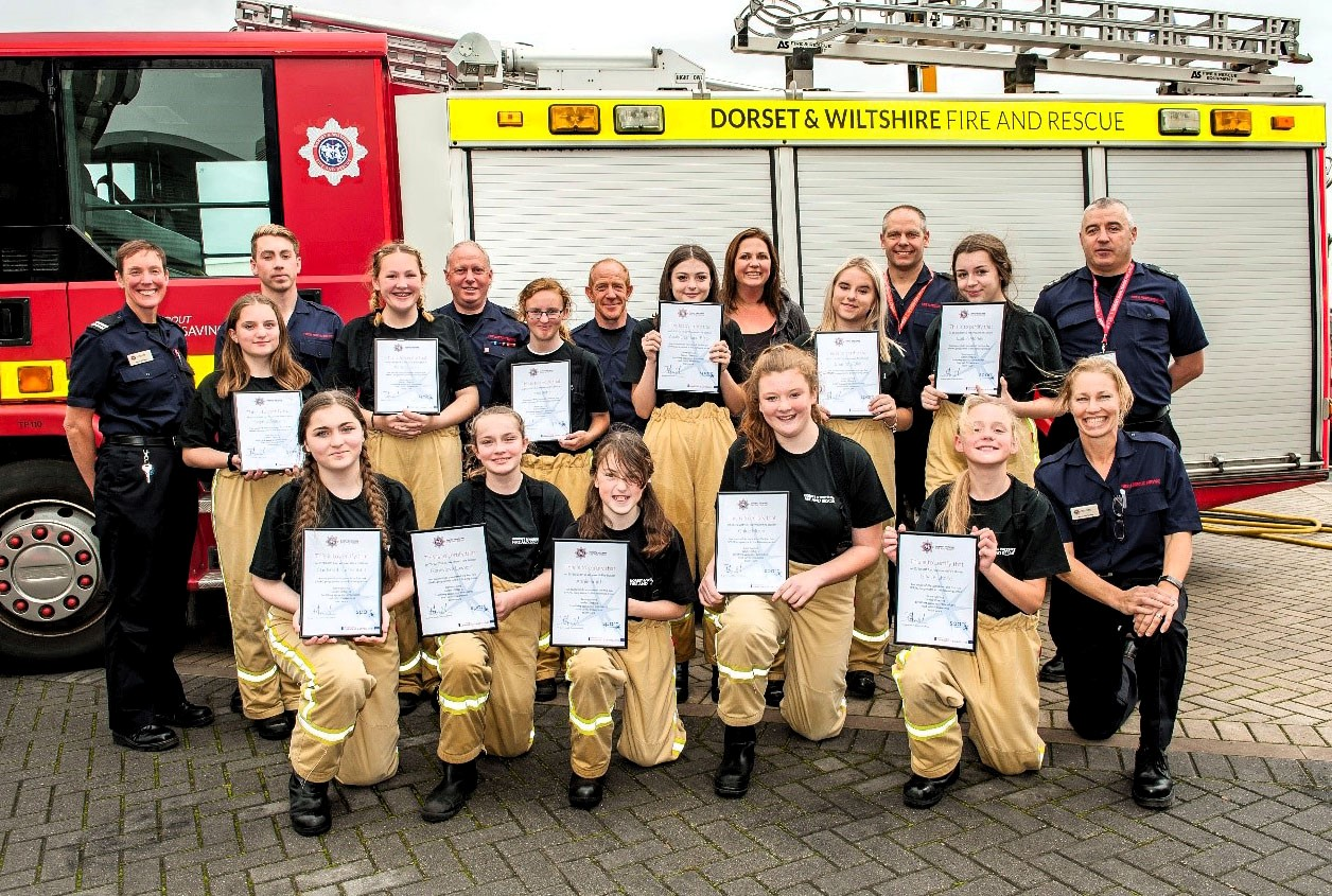How The Fire And Rescue Service Can Help Young Girls With Their Wellbeing