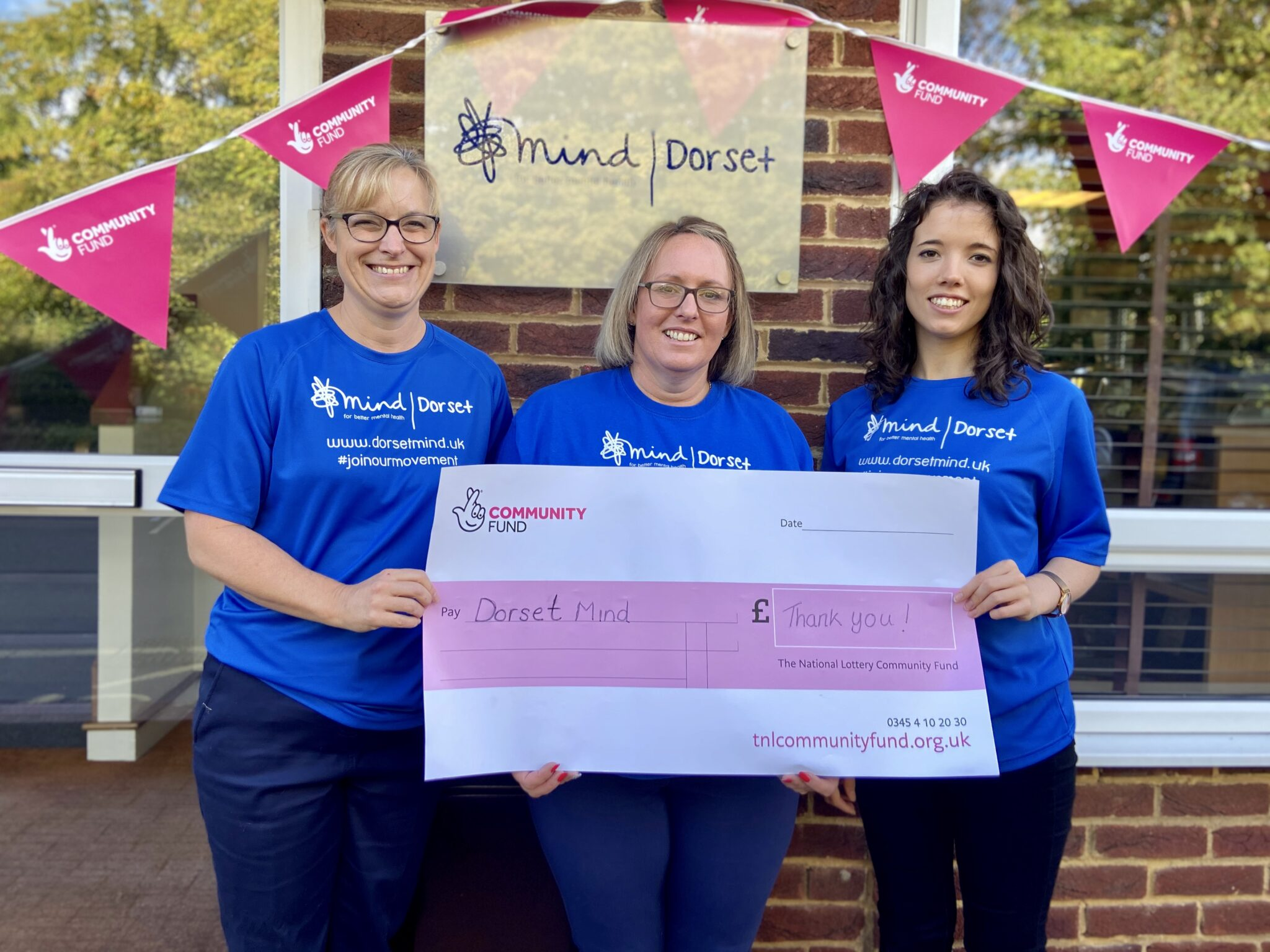 PRESS RELEASE: Dorset Mind Secures Lottery Funding
