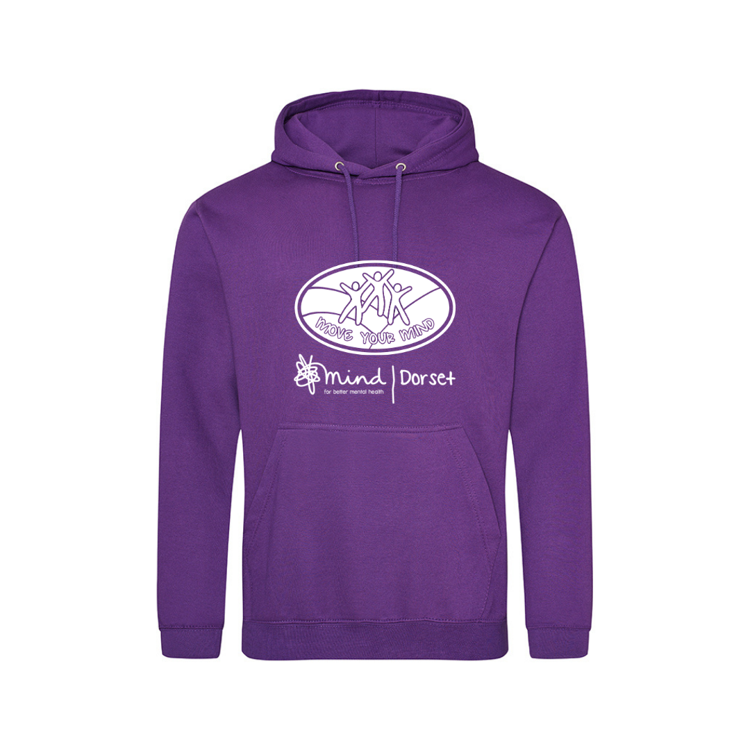 Unisex Hoody- Purple