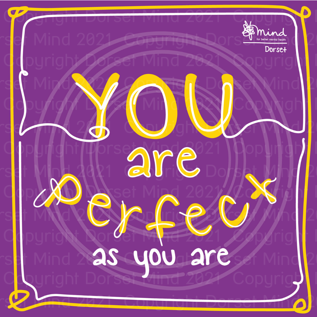 E-card – You Are Perfect As You Are