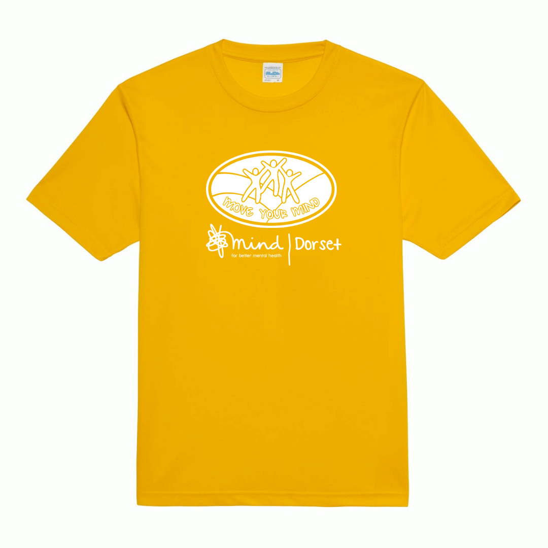 Unisex Sports T-shirt – Yellow