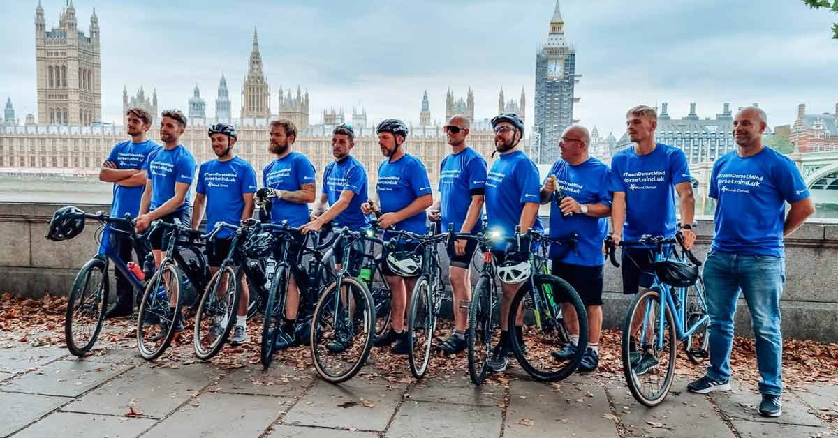 PRESS RELEASE: Charity Partners Cycle Over 140 Miles To London For Us!